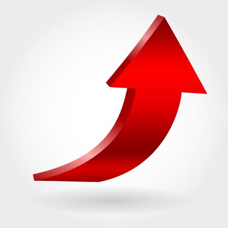 Red arrow icon Stock Vector - 99297671