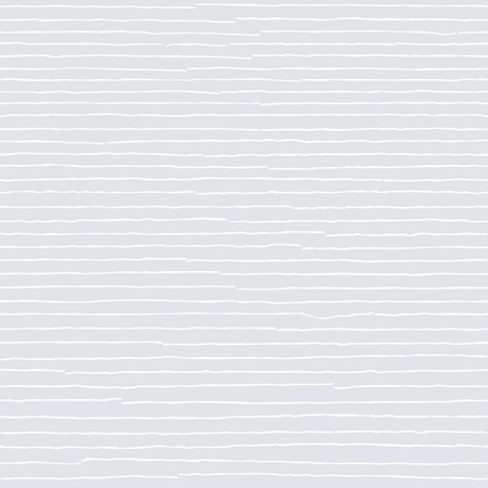 Witte naadloze patroon. Hand getekende licht beige abstracte gestreepte achtergrond met witte grunge lijnen