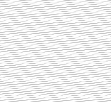 Seamless wave pattern. Abstract modern wavy background. Black and white curved line stripes. Simple and effective creative graphic design for fashion print textile fabric, wrapping and wallpaper