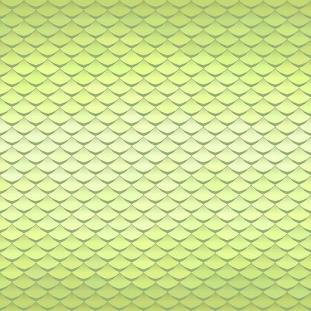 Abstract scale pattern. Roof tiles background. Light green squama texture. Archivio Fotografico - 136791984