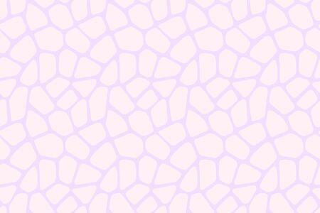 Seamless pattern skin print design. Stones artwork light pink background. Vector illustration Stock Illustratie