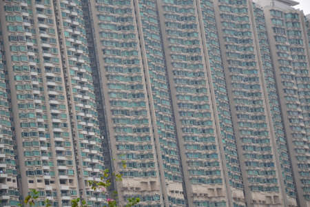 High modern business center, buildings in HongKong