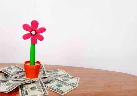 money to help grow and flourish
