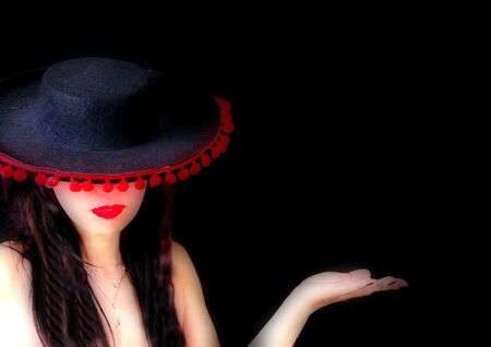 girl in a hat  Stock Photo - 12025669