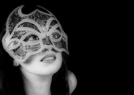 Girl in mask  Stock Photo - 12026270