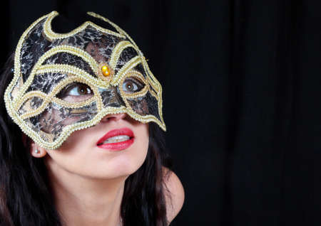 Girl in mask  Stock Photo - 12025675