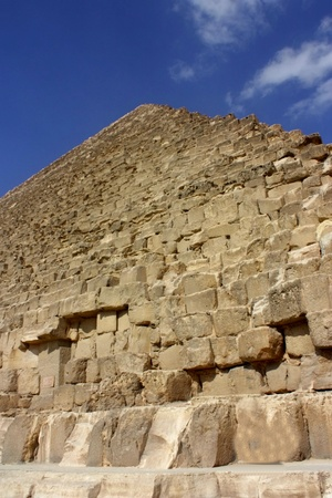 exotics: ancient pyramids in the desert of Egypt