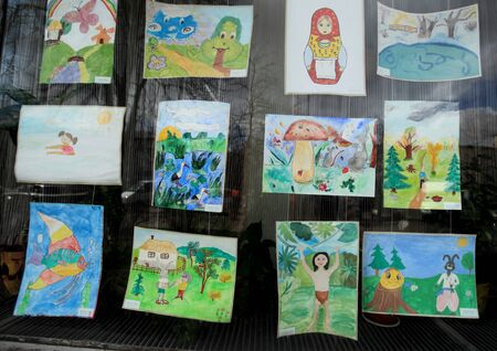 naivety: exhibition of children s pictures