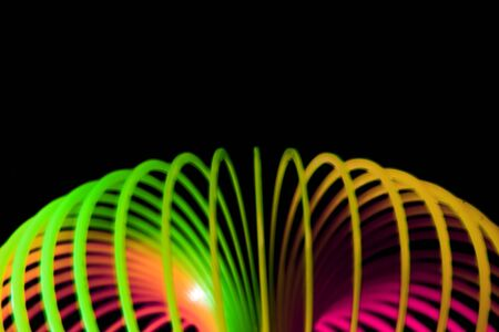 Abstract bright lines