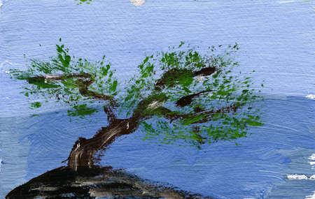 draw a tree Stock Photo - 17992579