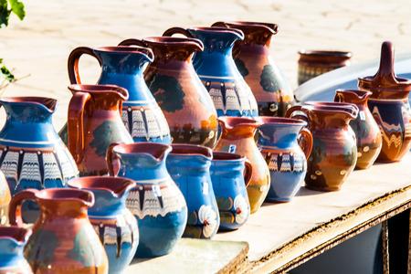 greek pottery: traditional Greek pottery Stock Photo