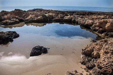 lagoon: Sea lagoon with clear water