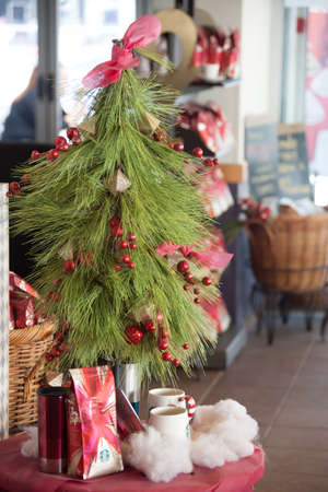 solemnization: Christmas Christmas tree with gifts