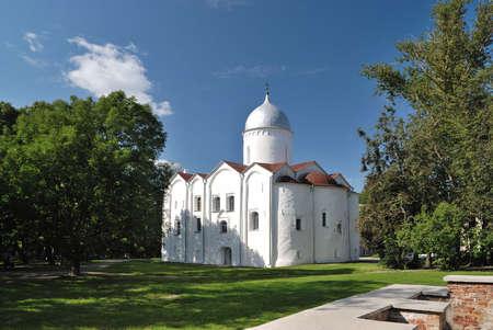 novgorod: St.Johns Church, 1127-1130, in Novgorod the Great