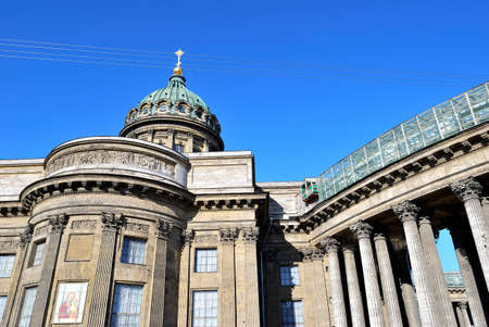 Dome and colonnade of the Kazan Cathedral. Saint-Petersburg photo