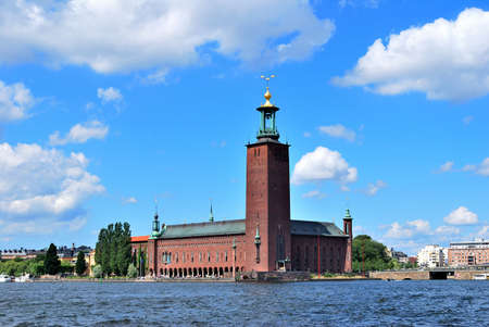romanticism: Stockholm City Hall built in the style of  national romanticism