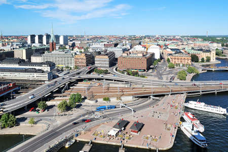 norrmalm: Stockholm, Sweden, Northen part of the city - District Norrmalm
