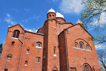 lutheran: Lutheran Cathedral in the town of Lappeenranta. Finland