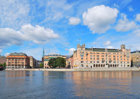 norrmalm: Stockholm. View of the city northern part  - Norrmalm Editorial