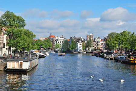 amstel river: Amsterdam. Amstel River, from the name of which the name of Amsterdam was derived