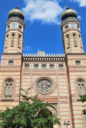 Budapest, Hungary.  Great Synagogue, the  largest in Europe