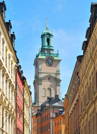 oldest:  Stockholm Cathedral.  The oldest church in the city