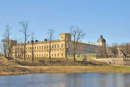 St. Petersburg, Gatchina Palace in the early spring