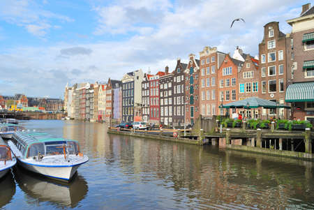 old quarter: One of the most beautiful places in Amsterdam - the Old Quarter Editorial