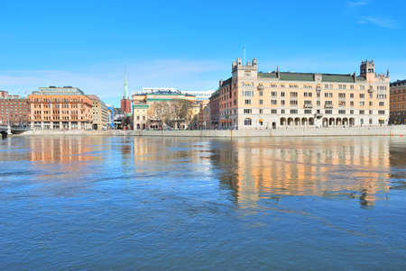 norrmalm: Stockholm  View of the central part of the city and Norrmalm Stock Photo