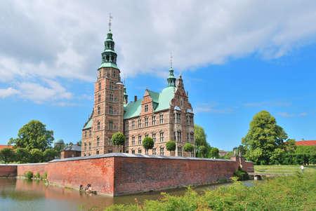 17th: Copenhagen, Denmark. Wonderful medieval architecture of the 17th century Rosenborg Editorial