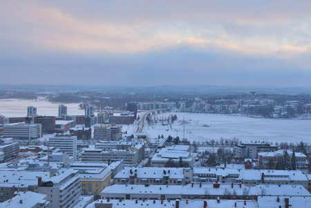 Jyvaskyla, Finland. View of the city from the  hill Harju Stock Photo - 16958028