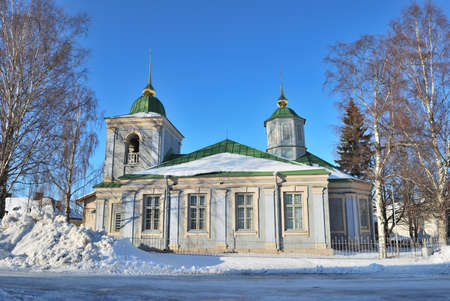 Finland. Old wooden Orthodox church in the fortress of Lappeenranta Stock Photo - 17144158