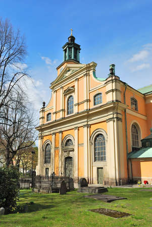 oldest: Stockholm. The oldest church in the district of Sodermalm - the Church of Mary Magdalene