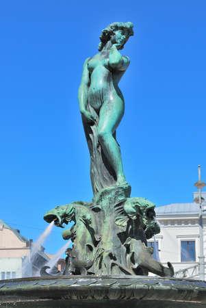 amanda: Beautiful Symbol of Helsinki Havis Amanda sculpture