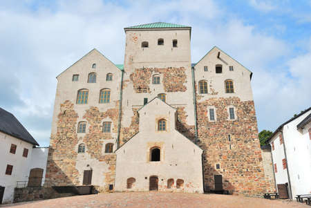 turku: Swedish medieval castle in the town of Turku, Finland