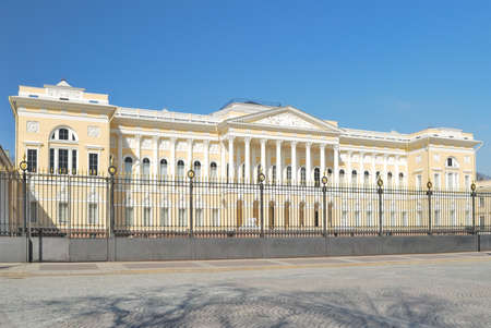 classicism: Russia. Architecture of Classicism style in St. Petersburg