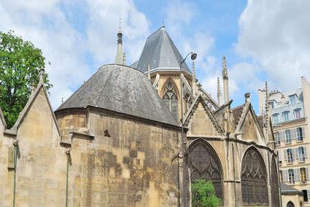 パリ, フランス.聖セヴェリンの教会、都市で最も古い教会の 1 つ