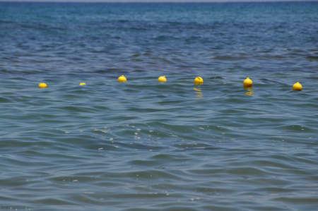 buoys: Buoys in the sea