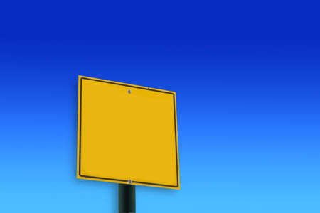 road sign blank photo