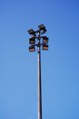 floodlights: floodlights in the sky
