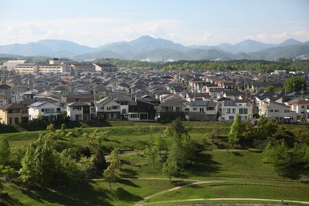 scenery of Hyogo, Mita, Japan