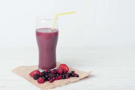 alimentacion balanceada: Batido de frutas frescas