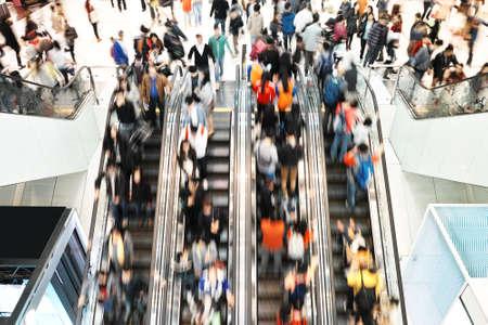mall: rush hour