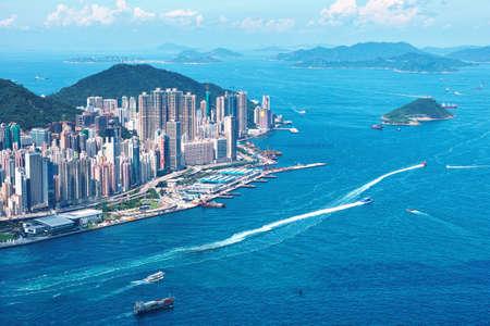 홍콩 섬 스톡 콘텐츠