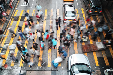 香港のラッシュアワー