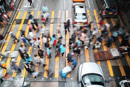 Hauptverkehrszeit in Hong Kong Standard-Bild - 37353937