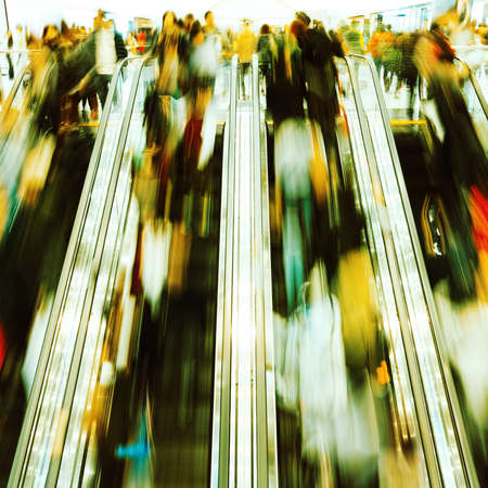 disembarking: rush hour