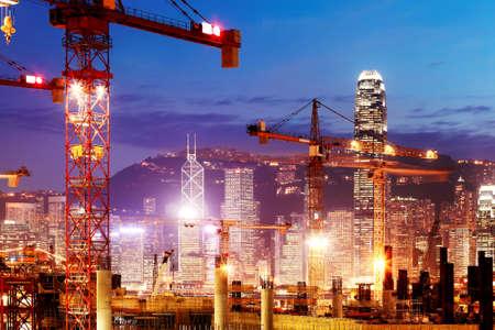 홍콩에서 건설 작업