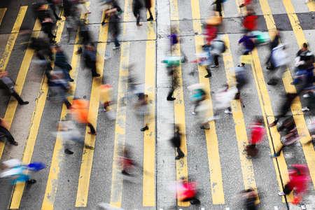 Bewegung Menschen: Gro�stadtleben