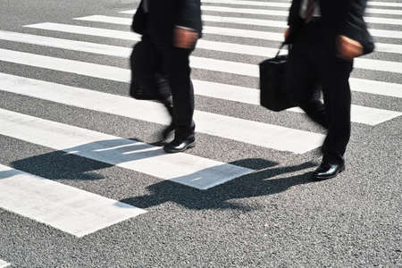 zebra crossing: zebra crossing Stock Photo